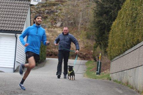 RASKEST: Zidane Moujahidi ble suveren vinner av terrengkarusellens løp på Søyland.