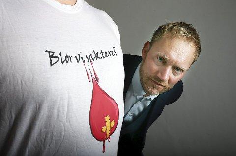 Verdig vinner: Sverre Håkon Evju startet en folkebevegelse med det retoriske spørsmålet han stilte helseministeren.Foto: Tom Melby