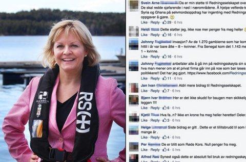 Rikke Lind, generalsekretær i Redningsselskapet, har aldri opplevd liknende pågang som det de har hatt de siste par dagene.