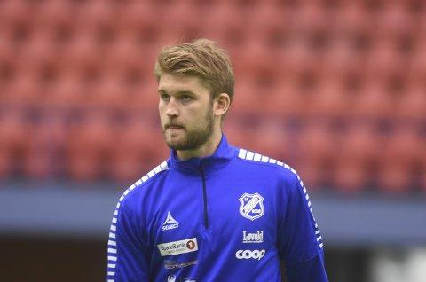 Skjønner lite: Martin Pedersen må sone to kamper etter sitt røde kort mot Fløya. Det skjønner Junkeren svært lite av, og vurderer å anke. Foto: Kristoffer Wollvik Pettersen