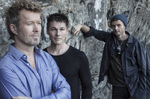 TIL BODØ: Magne Furuholmen, Morten Harket og Paul Waaktaar-Savoy kommer til Bodø i november for å spille inn helt fersk musikk - kombinert med en film spekket med nordnorsk natur.