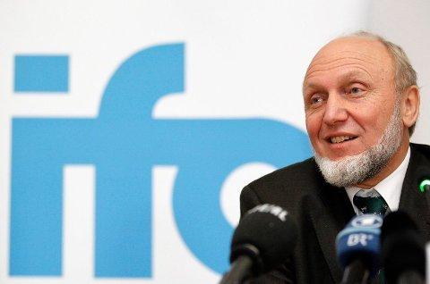 EKSPERT: Hans-Werner Sinn er tidligere leder for Ifo, professor emeritus ved Universitet i München og kåret som en av verdens fremste økonomer.Foto: Sebastian Widmann (AP)