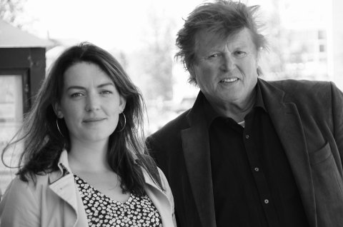 Synne Bjørbæk og Per-Gunnar Skotåm, Rødt.