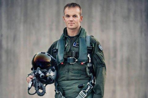 Eskil Amdal flyr til daglig verdens mest avanserte jagerfly, F-35. Nylig ble han slått ut av koronaviruset.
