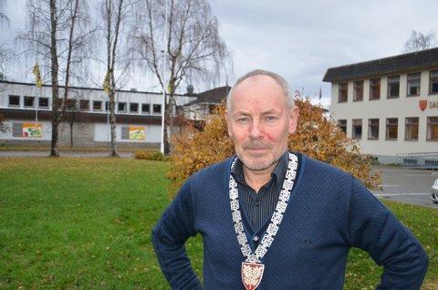 Ordfører Rune Berg.