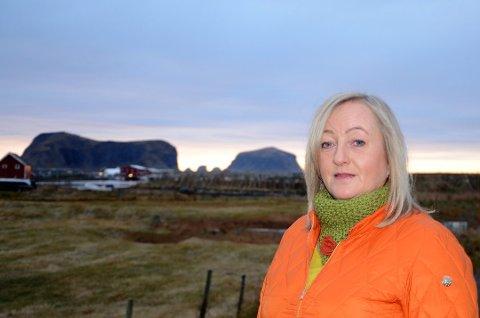 Ordfører i Røst kommune, Elisabeth Mikalsen. Foto: Hilde Berit Evensen