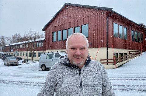 Fornøyd: Konstituert rektor Eirik Stensland har grunn til å smile bredt over gode søkertall.