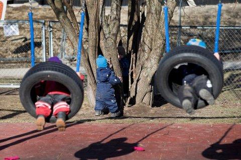 Det diskuteres om barn skal lære å si hen i stedet for han og hun. (Foto: Gorm Kallestad, NTB scanpix(ANB)