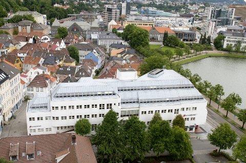Sparebanken Vest flyttet nylig ut av bygget i Kaigaten. Bergen kommune blir ny leietaker.