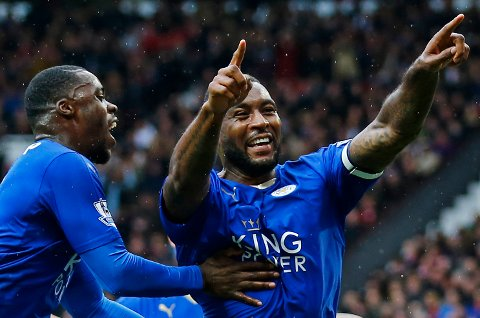 Leicester-kaptein Wes Morgan og hans lagkamerater har tatt et sensasjonelt gull.