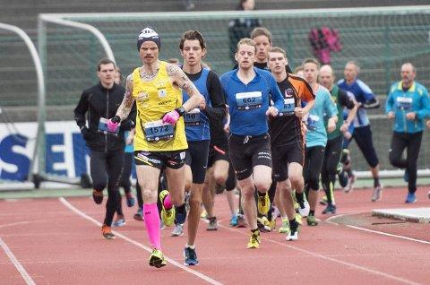 Bjørn Tore Kronen Taranger under den siste Løpskarusellen i år. Nå er han klar for NM i ultraløp.