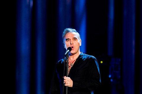 Lørdag kveld står Morrissey på scenen i Bergen.
