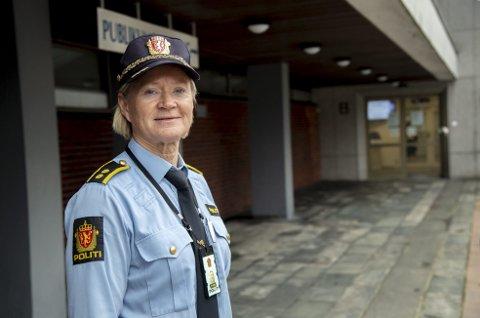 Bente Liland er avsnittsleder ved Kriminalitetsforebyggende avsnitt  i Vest politidistrikt.