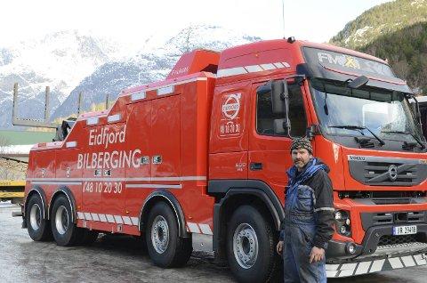 Bjørn Lægreid er klar for helgens snøvær i fjellet. (Arkivfoto)