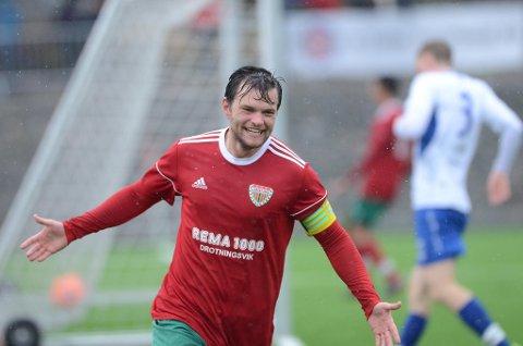 Gøran Gaustad scoret det viktige 2-1-målet for Loddefjord.