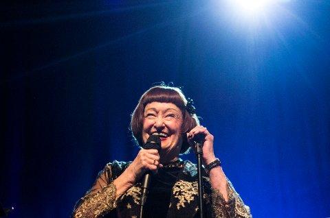 Dette bildet av Sheila Jordan er fra hennes opptreden på Vossa Jazz for fire år siden.