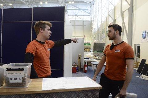 Messe: I år blir det tredje gang industrimessen Euro Expo arrangeres i stavangerregionen. Her fra messen i Randaberg Arena i 2013.