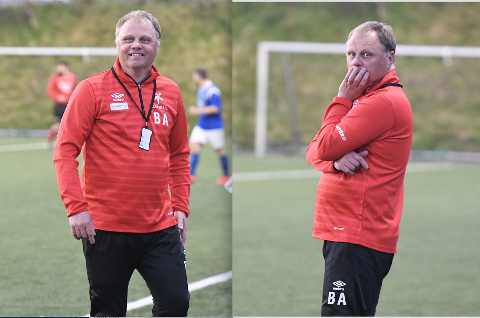 Bjarne Aske så laget ta en komfortabel 2-0-ledelse - så rotet Mastra-spillerne bort ledelsen.