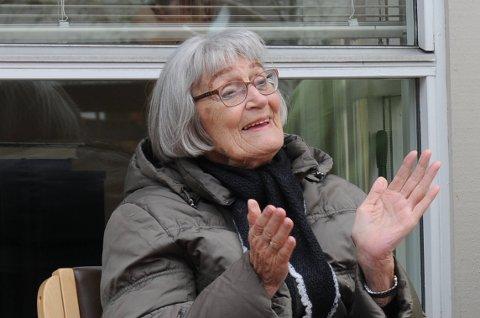 Fornøyd: Ruth Goa koste seg på konsert på Vardheim.