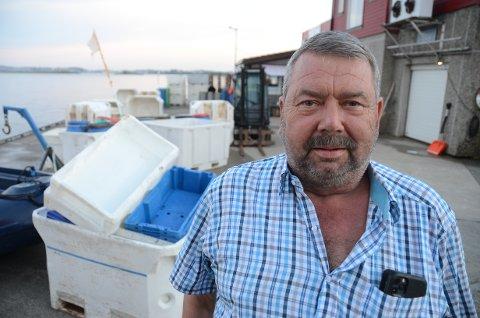 Fiskeritalsmann: Tor Bernhard Harestad i Stavanger og omegn fiskarlag har ikke noe i mot at et utenlandsk selskap som driver med havvind får lov til å teste boreutstyr i sjøen utenfor Mosterøy.
