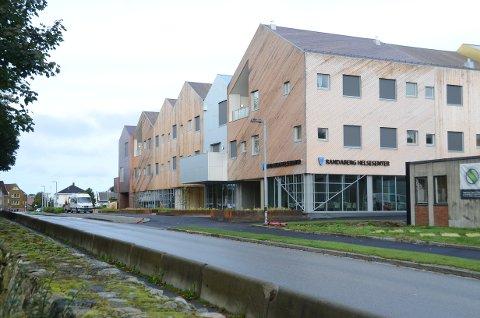 Randaberg Helsesenter: Åpner offisielt av helse- og omsorgsminister Bent Høie (Høyre) fredag ettermiddag.