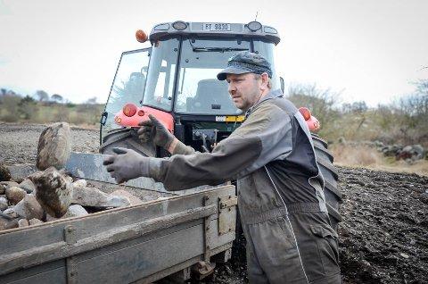 Bonde: Jan Steinar Bø leverte melk av topp kvalitet i 15 år i strekk.