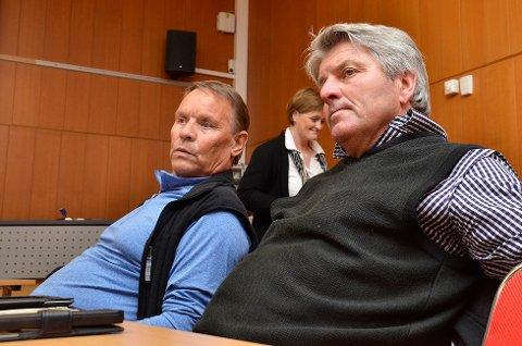 Fornybar energi: Selv om oppvarming fra kloakken ble skrinlagt, ønsker både SVs Freddy Berg (t.v.) og Knut Kvale (Sp) en utredning om bruk av andre fornybare energikilder
