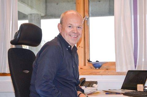 VERDENSREKORDER:  – Går alt etter planen verdensrekordstripa være på plass på fortauet i Vikersund sentrum i år, sier kultursjef Per Aimar Carlsen i Modum.