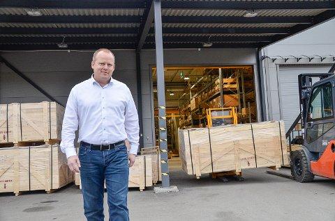ORDRETØRKE: – Korona-epidemien har ført til at vi den siste tiden har fått inn få nye bestillinger, sier Westad-sjef Jørn-Inge Throndsen.