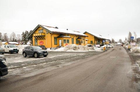 OVERFALL: En tenåring fra Vikersund skal ha blitt overfalt av fire maskerte menn onsdag like etter klokken 22 i dette området.