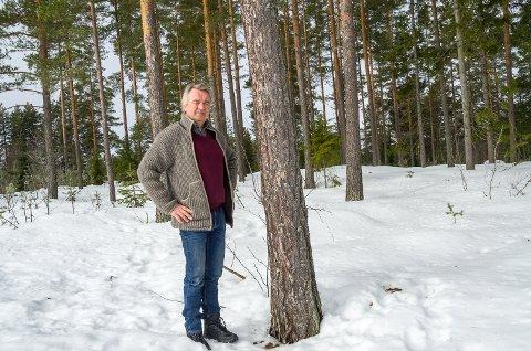 MÅ BEHOLDES: Gotfred Rygh mener Vikerøya har for stor verdi til at det kan bygges boliger der.