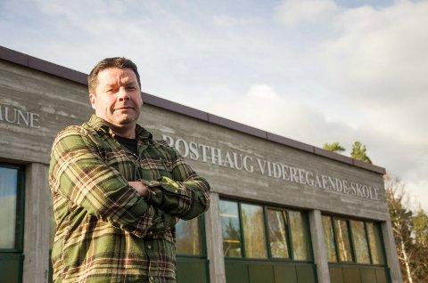 Rektor Knut Erik Hovde, Rosthaug Videregående skole, Rosthaug VGS. November 2016