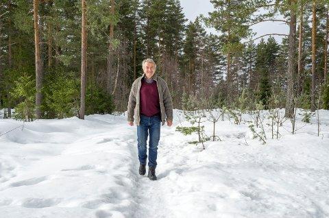 KOMPROMISS: Formannskapet i Modum vedtok mandag å legge inn 20 tomter på Vikerøya. – Et kompromiss, sier Gotfred Rygh, som helst hadde sett at det ikke ble bygd mer i området.