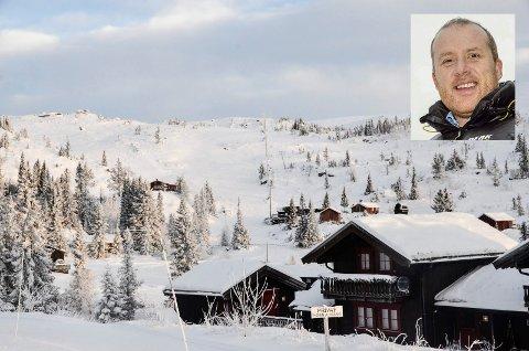OPTIMIST: - Byggegrensen mot fjellet gjør at vi må redusere antallet hytter og leiligheter på Tempelseter noe, men prosjektet kan likevel realiseres på en god måte, sier John Uppard i Norefjell Utvikling AS.