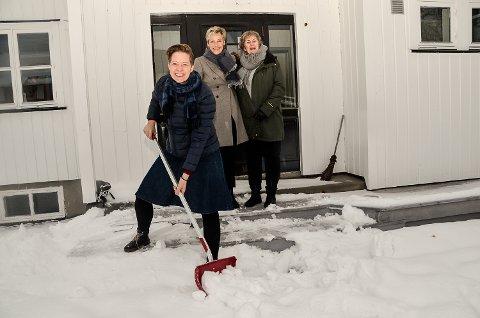 GOD REPONS: Prosjektleder Hilde Søraas Grønhovd er godt fornøyd med responsen etter at hun i november, sammen med ordfører Tine Norman og Anne Marit Tangen, oppfordret til «utleiedugnad» i Sigdal.