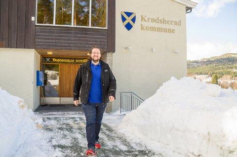 MÅLBEVISST: Andreas Kagiavas Torp har satt seg klare mål, og satser på at Krødsherad Høyre gjør et godt valg med han som ordførerkandidat.