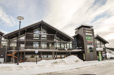 NOREFJELLPORTEN: Krødsherad kommune vurderer å kjøpe andreetasje på kjøpesenteret Norefjellporten.