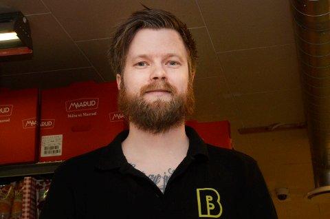 TOPPKANDIDAT: Vegard Hustad tar gjenvalg for MDG i Øvre Eiker.