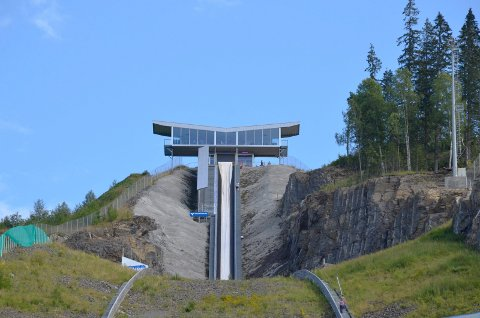MEDLEM: Stiftelsen Vikersund hoppsenter er med i Norefjell Destinasjon.