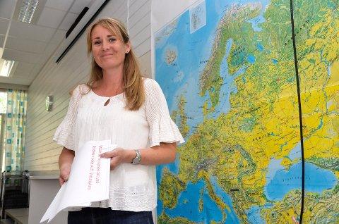 Lise Kristensen er lærer på Krøderen skole.