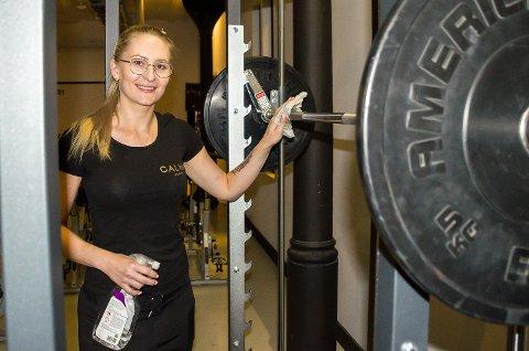 STENGT IGJEN: Calma Fitness har låst dørene nok en gang på grunn av koronapandemien. Marlene Ranheim Paulsen er irritert over mangelen på informasjon i forkant.