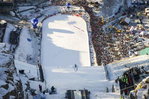 ERSTATTES AV PLANICA: Raw Air-rennet som skulle blitt arrangert i Vikersund flyttes til Planica.