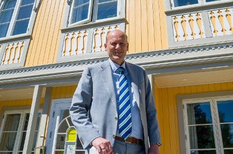 SPESIELL START: Det har blitt en noe spesiell start på jobben som direktør ved Modum Bad for Anders B. Werp.