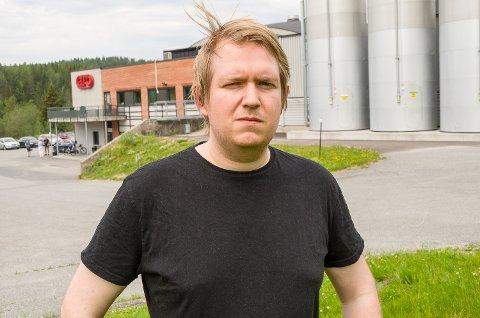 PÅ JOBBJAKT: Marius Fagerland kommer til å starte jakten på ny jobb svært raskt.