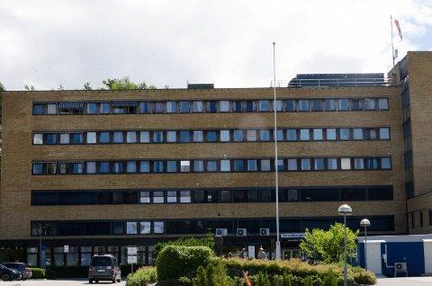 LYNNEDSLAG: Telefonnettet på Ringerike sykehus ligger nede.
