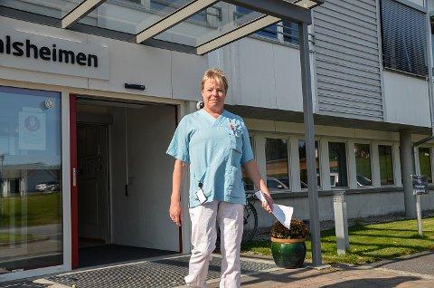 VANSKELIG KABAL: Assisterende leder Ester Nes Ramstad ved Sigdalsheimen har av og til for få navn når vaktlistene skal settes opp.