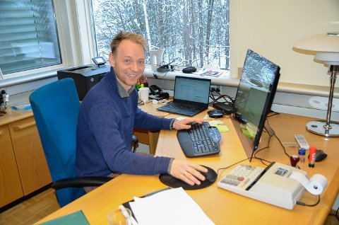 BEST I TEST: Kristian Torgersen er fornøyd etter at hans Packline-skibokser er beste i test gjennomført av NAF og svenske Tekstfakta.
