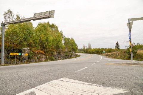 NYTT KRYSS? Etter flere år uten videre planlegging har det kommet opp nye ideer om hvordan trafikken i framtiden kan avvikles gjennom Vikersund Nord-krysset.