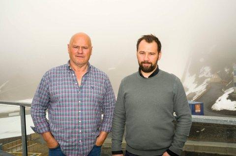 INVESTERER: Albert Kr. og Lars Hæhre har startet hvert sitt helt ferske investeringsselskap.