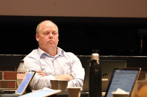 GANSKE ZEN: Varaordfører Bjørn Inge Mydland (Sp) var slett ikke hysterisk da kommunestyret i Sokndal skulle behandle saken om NAV-samarbeid.